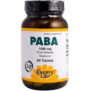 Paba vitamin benefits